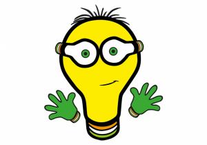 LED-lamp Leddy mascotte
